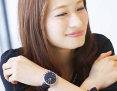 大きめな時計が好きな女性へ