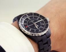 CHANEL J12 GMT マットブラック H3101
